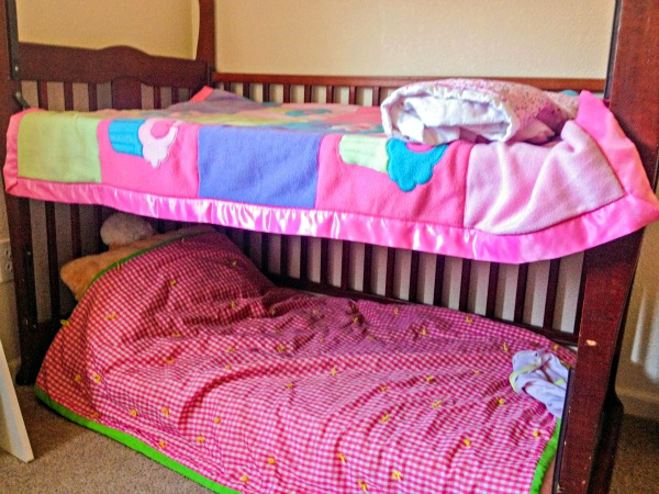 Crib-to-Toddler Bed Transformation