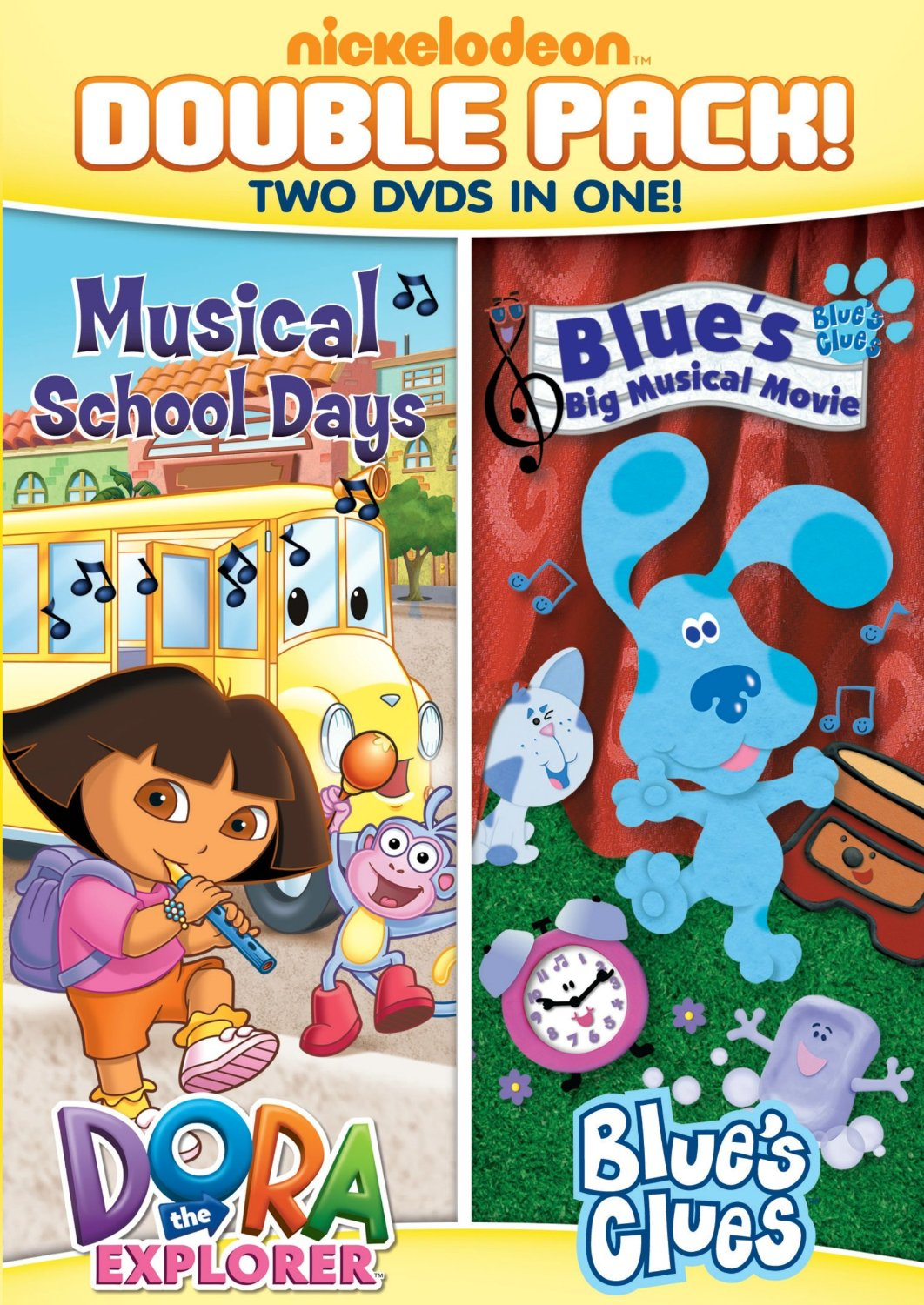 """Curing the Summertime Blues With PJ Day & Nickelodeon's """"Let's Learn Colors"""" & """"Dora & Blue's Clues Double Feature"""""""