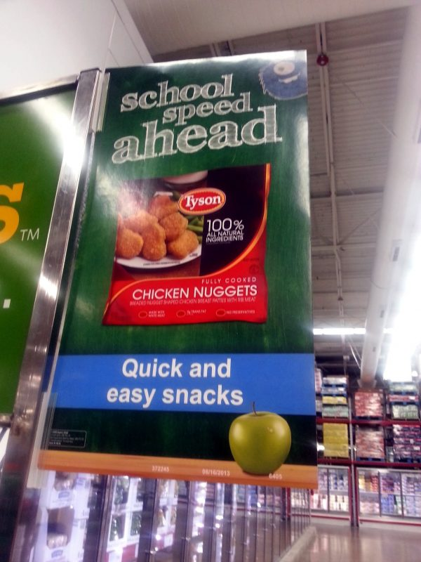 Tyson Nuggets for after school snacks