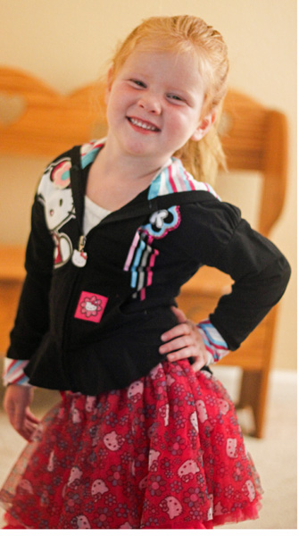 hello kitty clothing for girls