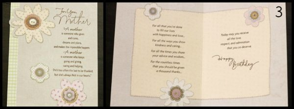 For You Mother Card #BirthdaySmiles