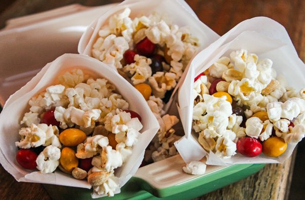 Fall Popcorn Trail Mix #HarvestFun #shop