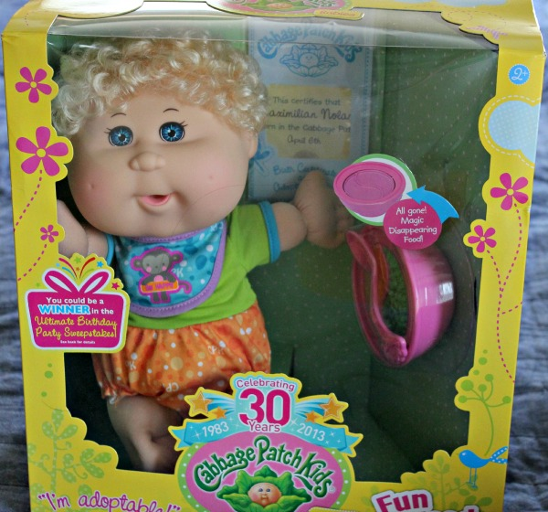 Cabbage Patch Fun to Feed Baby
