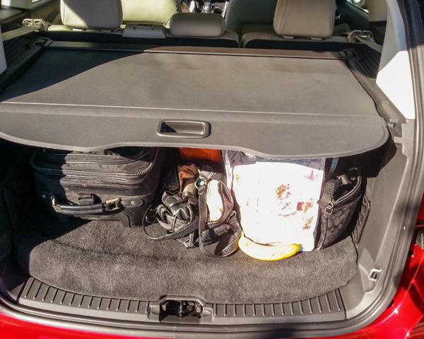 Ford C-MAX Hybrid Trunk