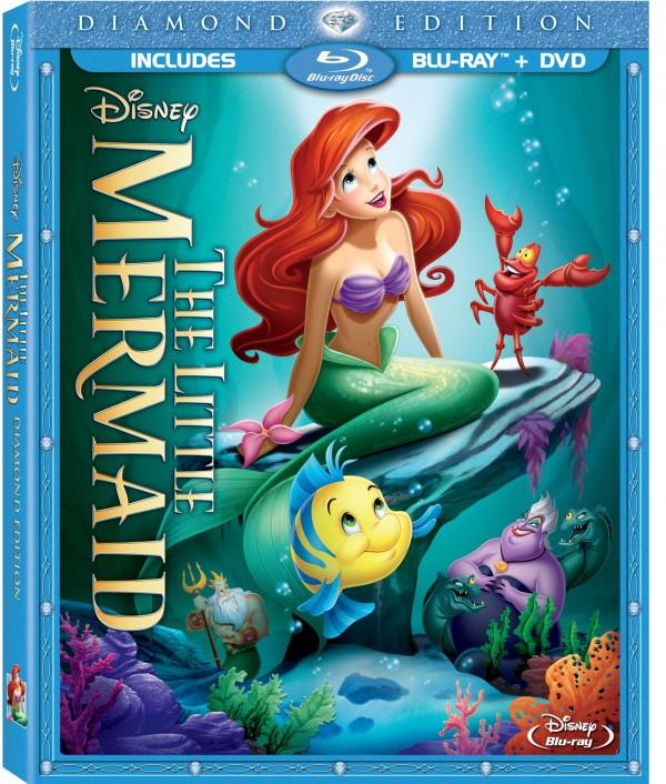 Little Mermaid DE Combo Pack Box Art