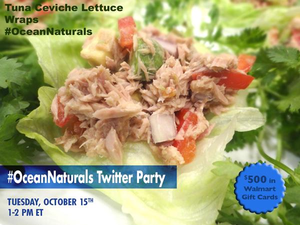 #OceanNaturals-Twitter-Party-10-15