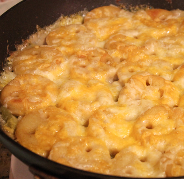 Smiles Casserole: A New Spin on Tater Tot Casserole! And there wasn't a bite left over!