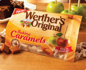 werther's baking caramels