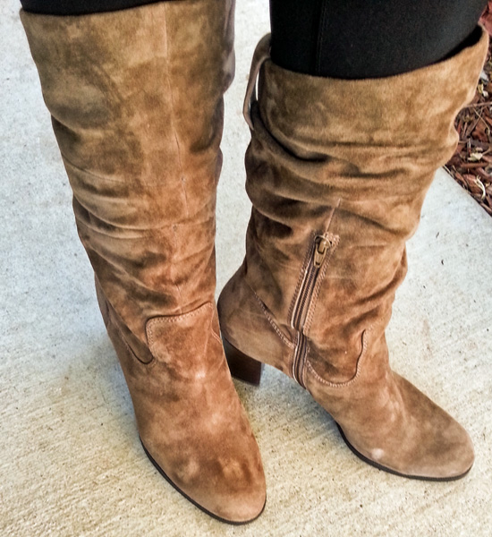 Naturalizer Lamont Boots in Truffle Taupe