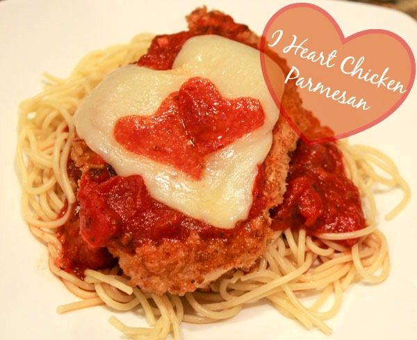I Heart Chicken Parmesan