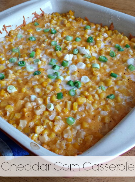 Cheddar Corn Casserole and Side Dishes from Sam's Club