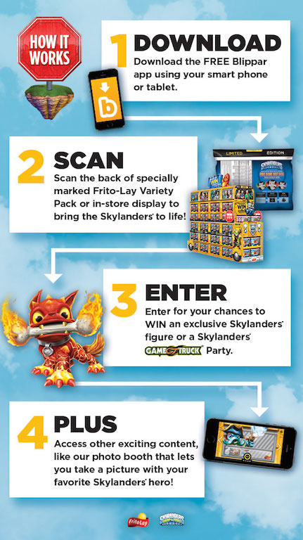 Free App and Frito-Lay and Skylanders Giveaway - Clever