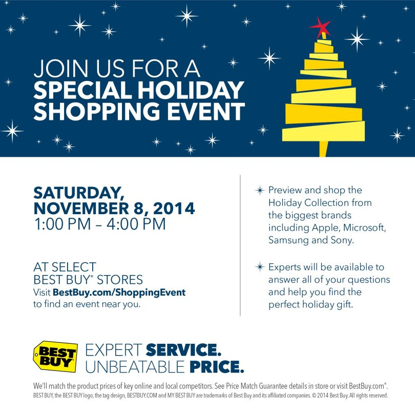 shop for your tech lover at the best buy holiday preview event this saturday - Best Buy Christmas Hours