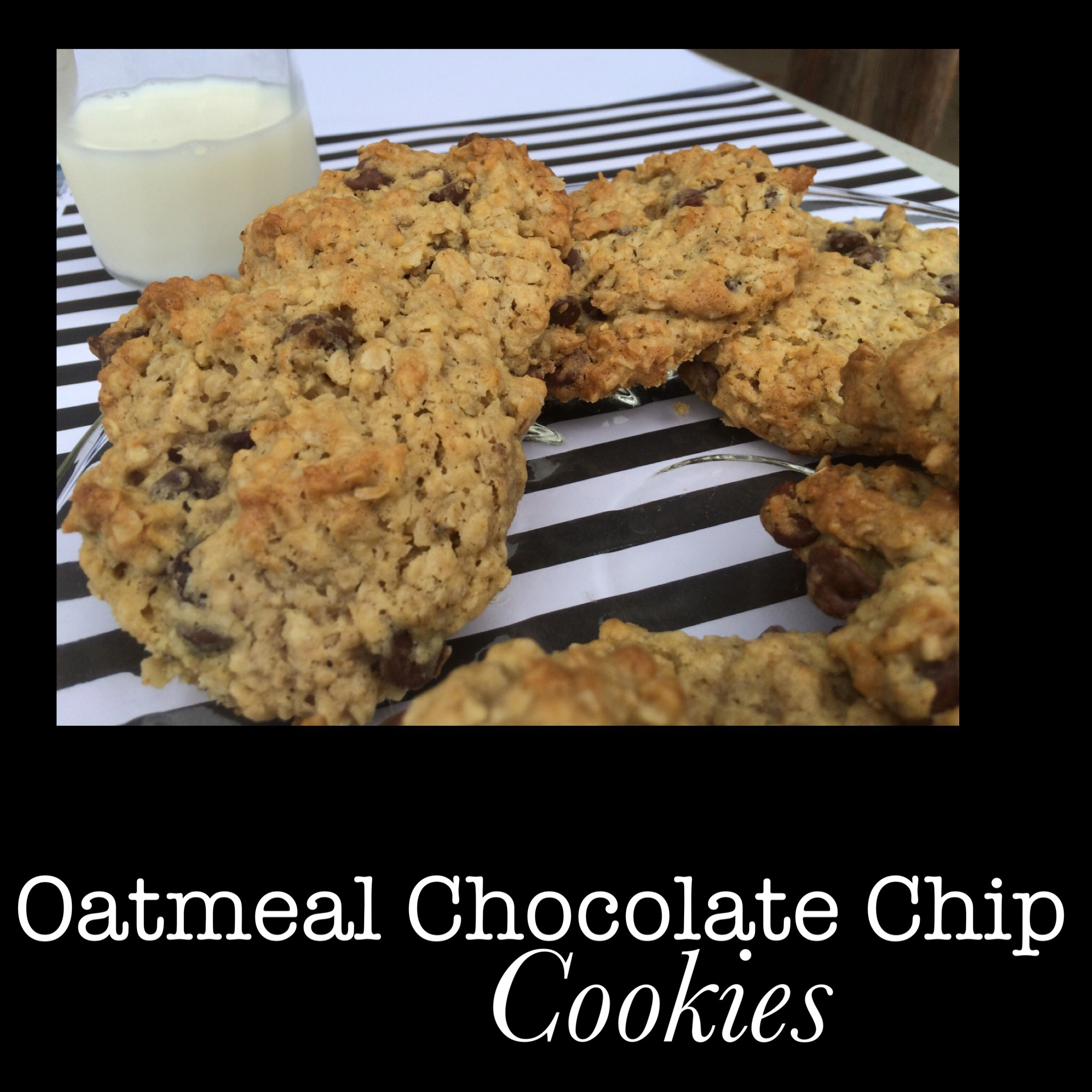 """You Won't Believe How Amazing"" Oatmeal Chocolate Chip Cookie Recipe"