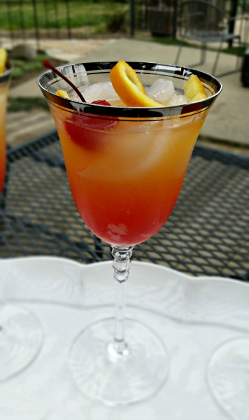 Malibu Mango Mocktail