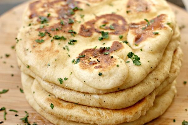 Homemade Naan Bread Clever Housewife