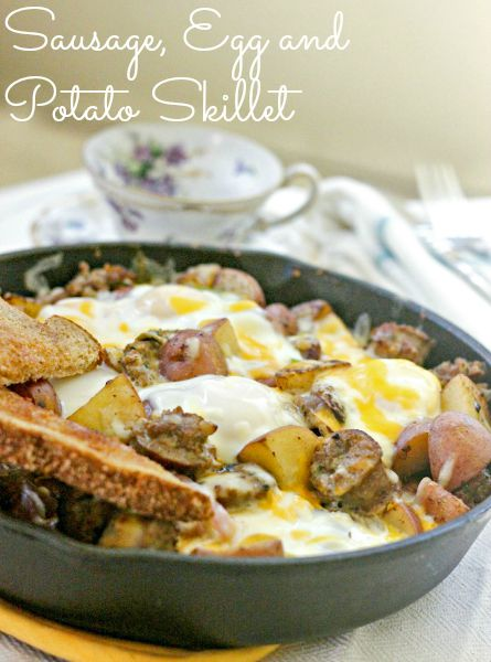 Sausage Egg And Potato Skillet