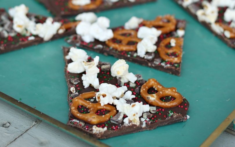 Sweet & Salty Christmas Bark