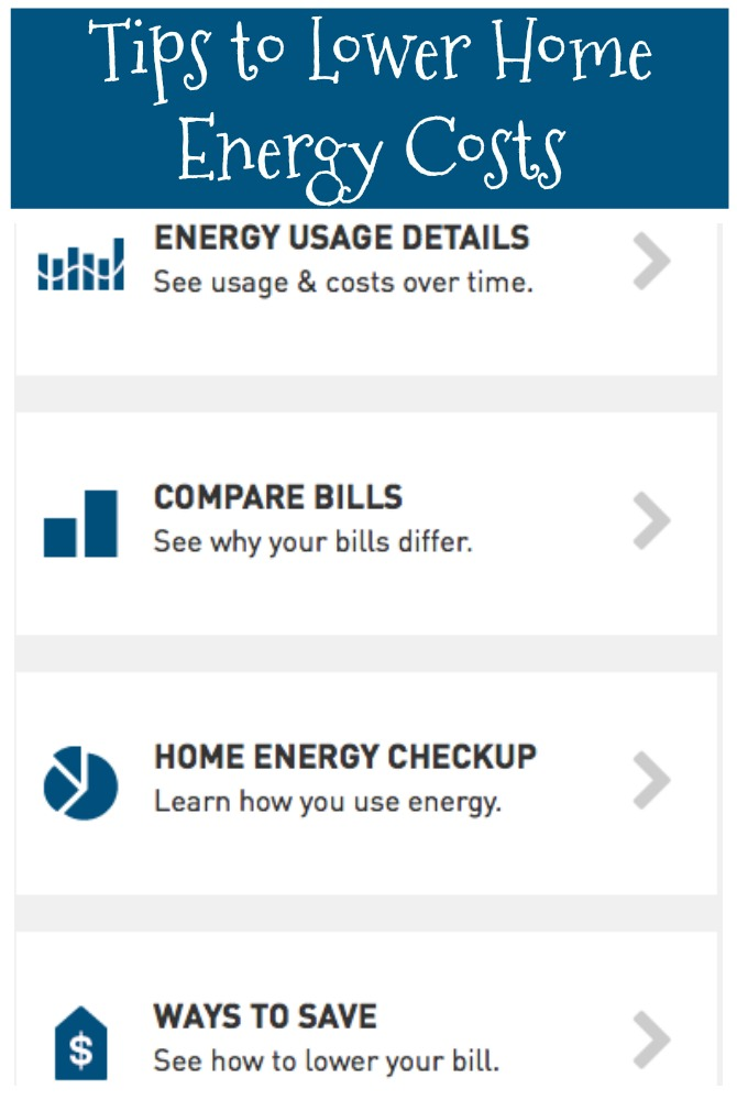Tips to Lower Home Energy Costs