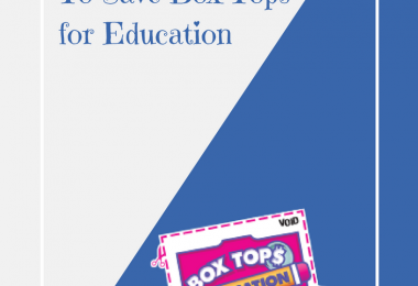 5 Real World Mom Reasons to Save Box Tops for Education
