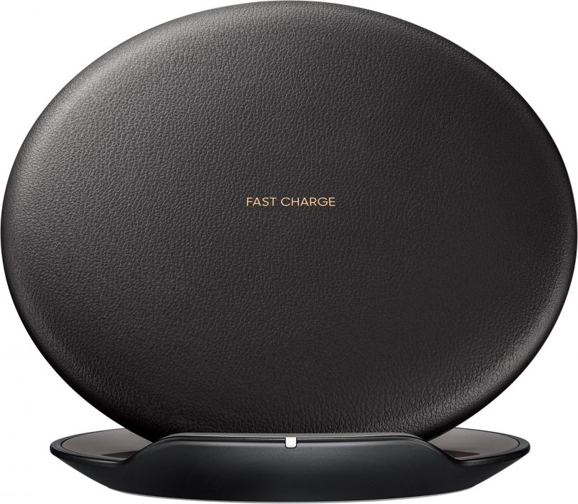 Samsung - Fast Charge Wireless Charging Convertible Stand - Black
