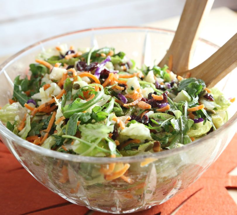 Fall Harvest Salad in the Ninja Intelli-Sense Kitchen System