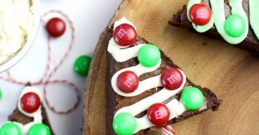 Brownie Christmas Trees from Suburban Simplicity