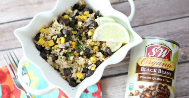 Black Beans and Lime Rice
