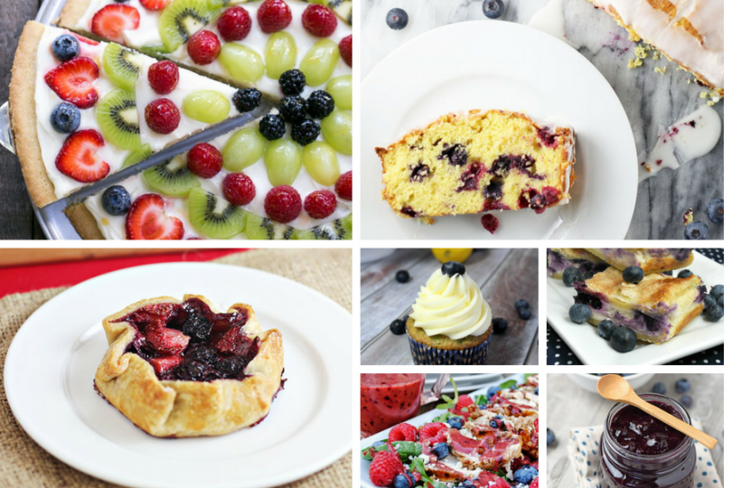 Summer Blueberry Recipes