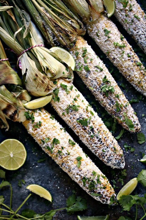 Grilled Mexican Street Corn from Kiss My Smoke