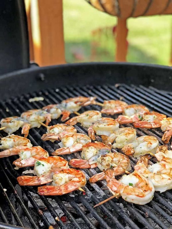 Greek Style Grilled Shrimp from Platter Talk