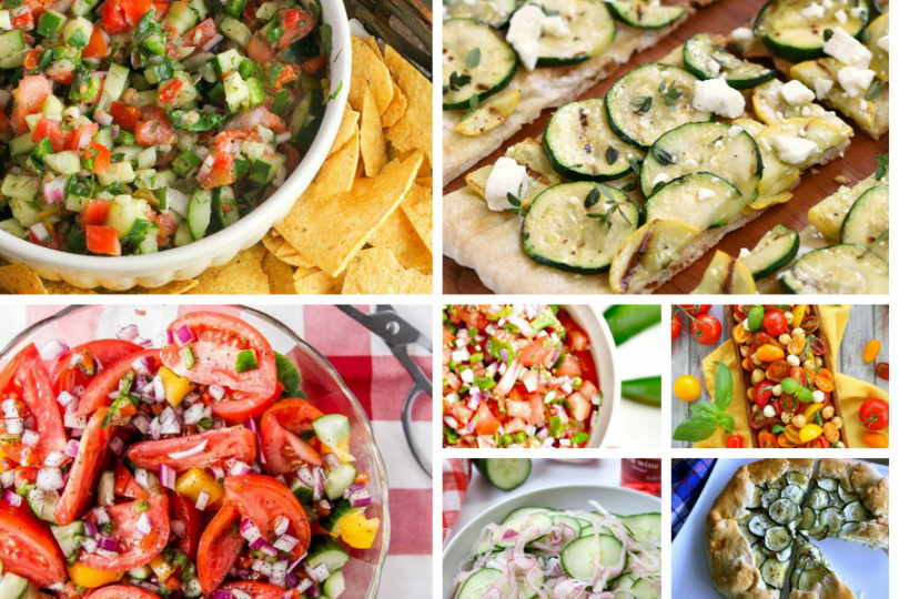 Summer Veggie Recipes