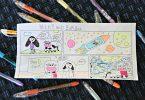 How to Create Comics Using Pentel POP Pens