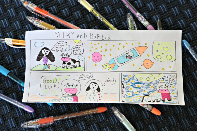 How to Create Comics Using Pentel POP Pens