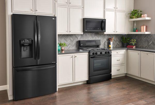 Reasons to Choose LG Matte Black Kitchen Appliances