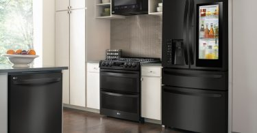 Reasons to Choose LG Matte Black Kitchen Appliances