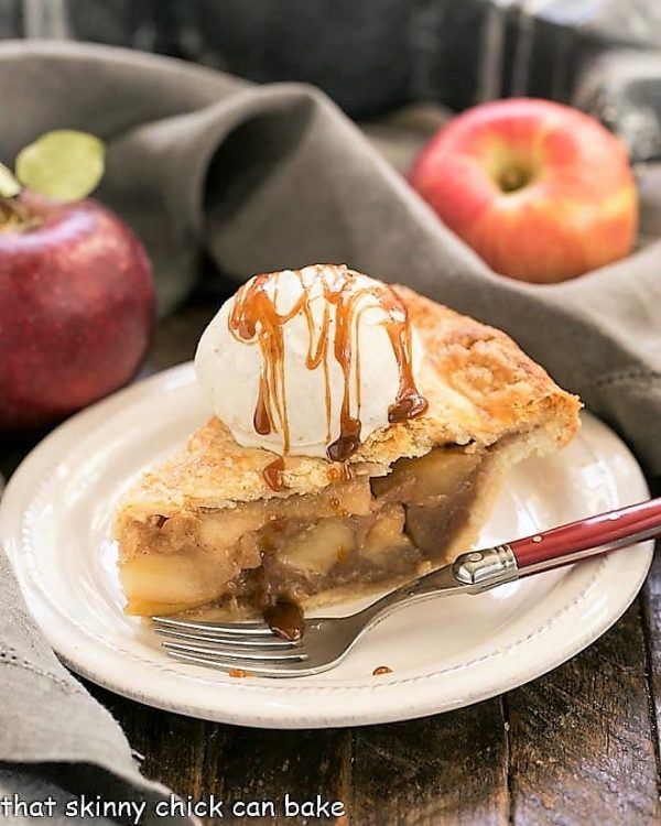Caramel Apple Pie by That Skinny Chick Can Bake