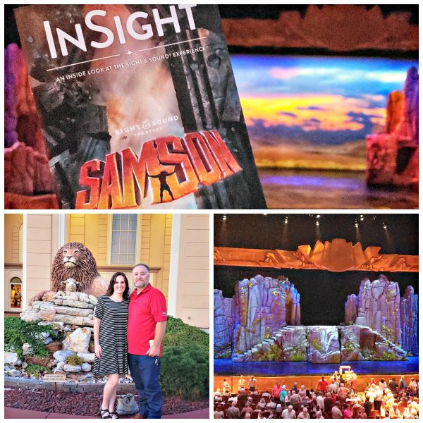 Sight & Sound Theatre's Samson