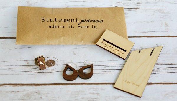Statement peace jewelry