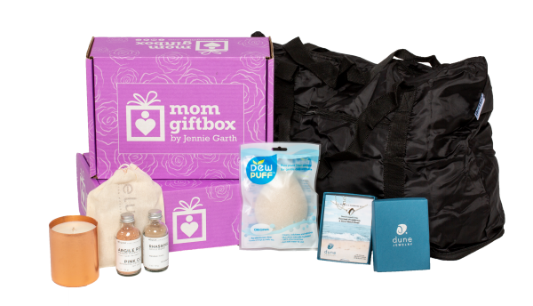Specially Curated Mom Gift Box from Jennie Garth and TheGiftBox.com