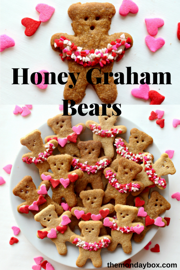 Honey Graham Bears from The Monday Box