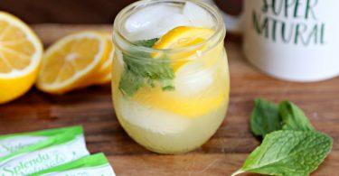 Mint Lemonade and Tips for Surviving a Liquid Diet