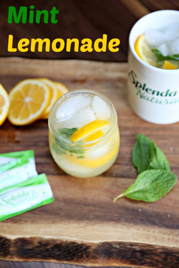 Mint Lemonade and Tips for Surviving a Liquid Diet
