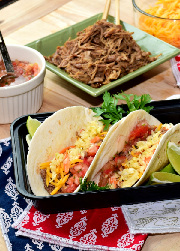 Pulled Pork Street Tacos from A Proverbs 31 Wife