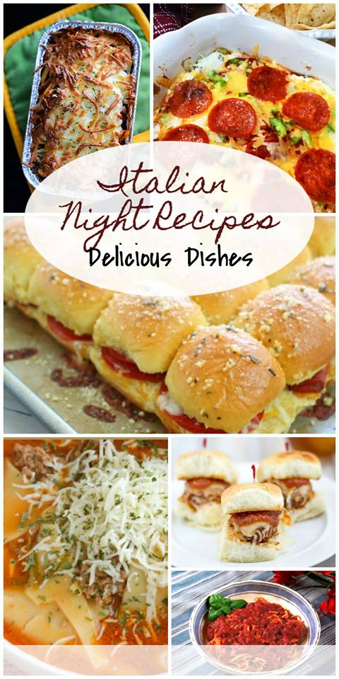 Italian Dinner Recipes