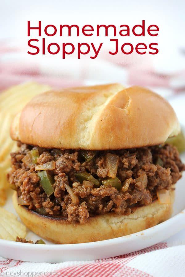 Homemade Sloppy Joes from Cincy Shopper