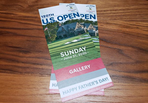 2020 U.S. Open Tickets