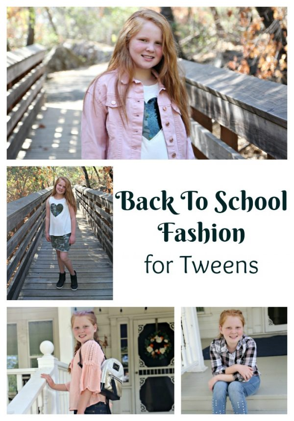Back To School Fashion for Tweens