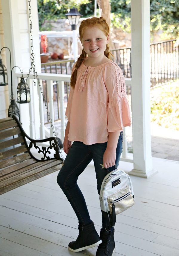 Lacey Boho Top from Justice Fashion for Tweens