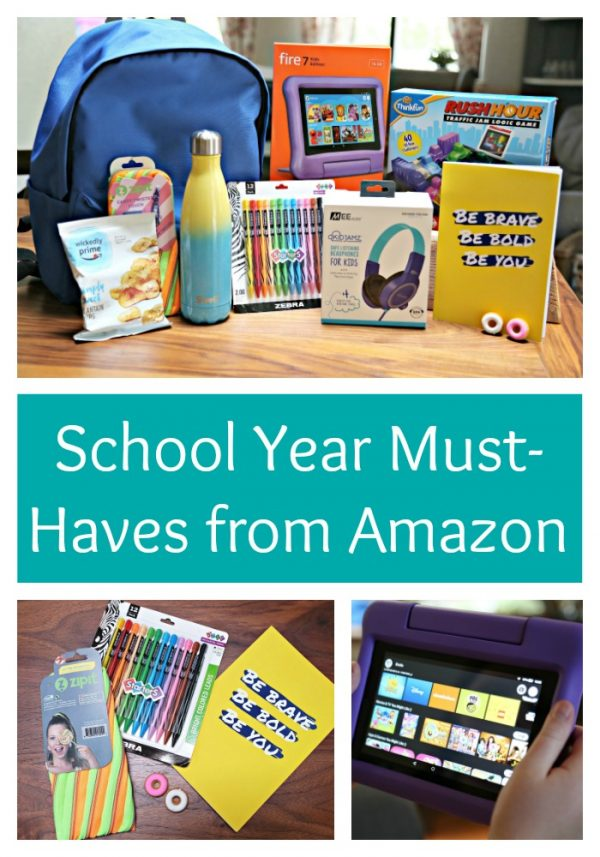 School Year Must-Haves from Amazon
